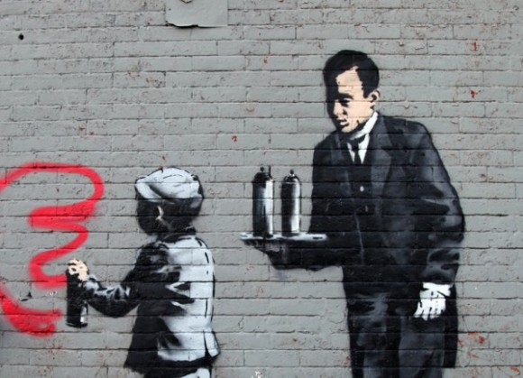 Street-Art-By-Banksy-in-South-Bronx-New-York-USA-2-600x434