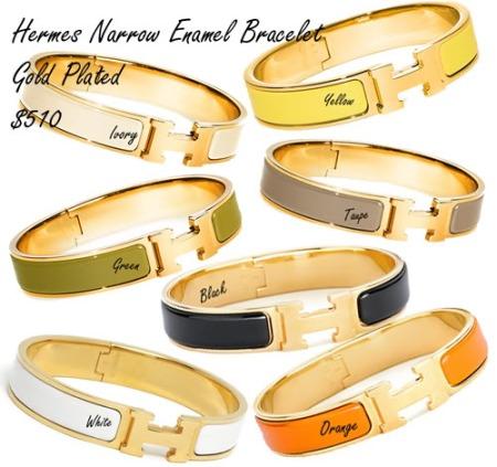 Hermes_Enamel_Bracelets
